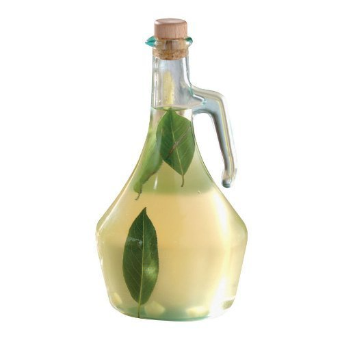 Tablecraft H9222 Green Tint Glass Portabella 16 Oz. Olive Oil Bottle-H9222 by Tablecraft