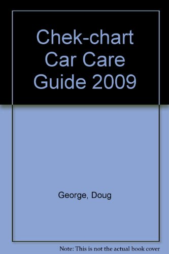 Chek-chart Car Care Guide 2009