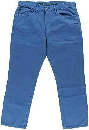 Nautica Men's Straight Fit Colored Denim