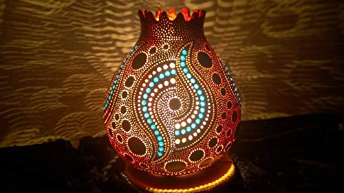 The Luciferous | Gourd Lamp Night Light Boho