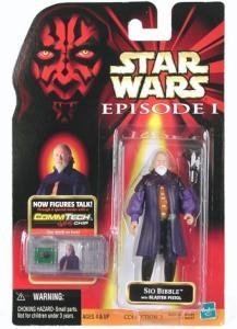 Star Wars Episode I Sio Bibble 3.75 Action Figure with CommTech Chip by Star Wars ()