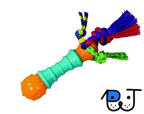 Brinquedos - Brinquedo Mordedor para Cães Barbell Chew Mini - Petstages