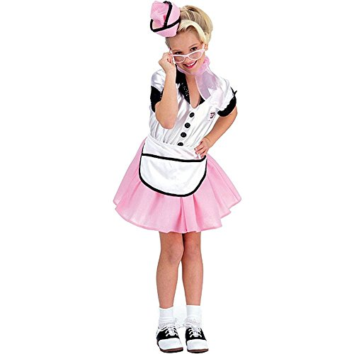 Soda Pop Girl Large 50s 50's Retro Costume - M -