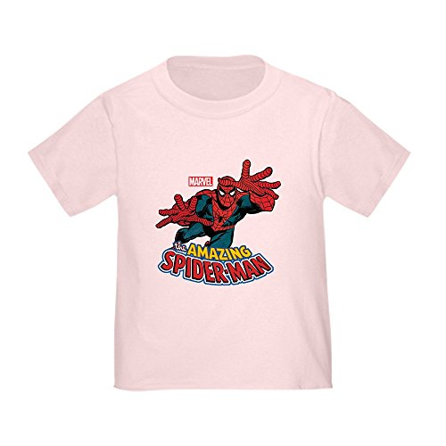Pink Spiderman Shirt Toddler - CafePress The Amazing Spiderman Toddler T