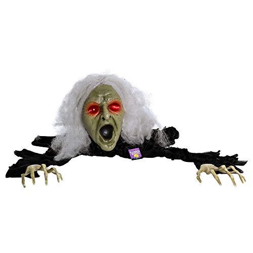 Ground Breaker Zombie Animated Prop - Halloween Haunters Scary Speaking Zombie Wicked