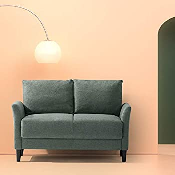 Amazon Com Zinus Ricardo Contemporary Upholstered 62 2