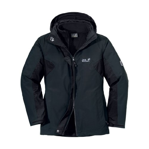 Jack Wolfskin Mujer Cold Valley Women 1101011, NOS, Mujer, color Shadow Black, tamaño Small Shadow Black