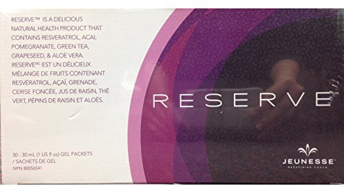 - Jeunesse Globa Reserve Antioxidant Fruit Blend Nutritional Supplement, (30ml) 30 Packets per box.