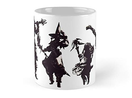 Final Fantasy Party Mug - 11oz Mug - Dishwasher safe - Made from Ceramic.
