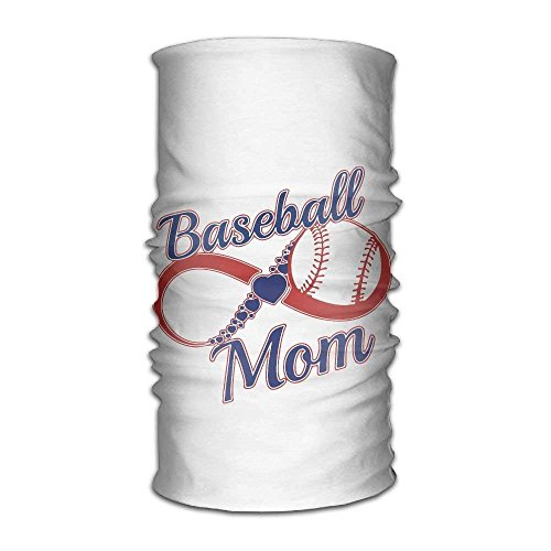 Unisex Stylish Crazy Baseball Mom Quick Dry Microfiber Headwear Outdoor Magic Bandana Neck Gaiter Head Wrap Headband Scarf Face Mask Ultra Soft Elastic Handscarf