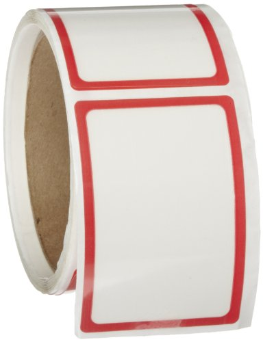 Roll Products 117-0002 Action Dry Erase Label with Protective Flap, 3