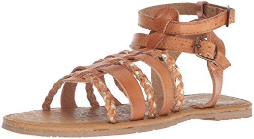 Sbicca Tan Gold Women's Starshell Sandal rCprq