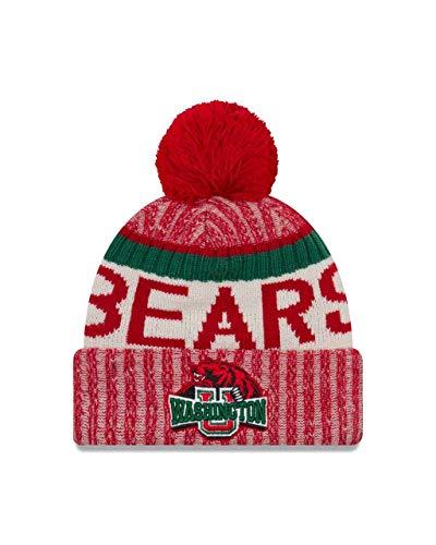 Washington-St Louis Bears Adult NCAA NE17 Sport Knit Beanie - Team Color, One Size