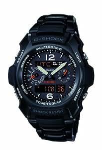 Casio Men's G-Shock G-Aviation GW2500BD-1A Stainless-Steel Quartz Watch with Black Dial