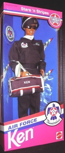 Stars 'n Stripes Air Force Thunderbirds Ken (Barbie) Doll 1993 Special Edition (Barbie Stars N Stripes)
