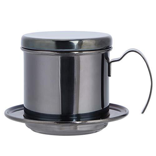 Cafetera de goteo portátil de acero inoxidable Hervidor de café Cafetera Goteador de café manual, Cafetera de taza para…