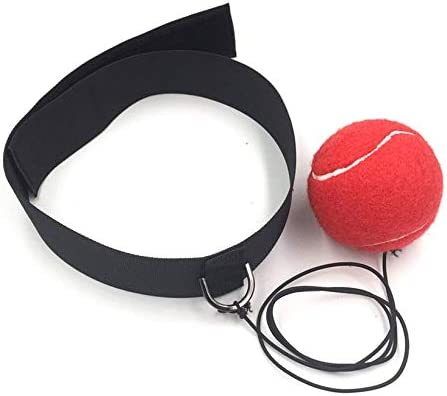 JICHUIO Eubi Fight Boxing Ball Punching Equipment with Head Band For Training Boxing