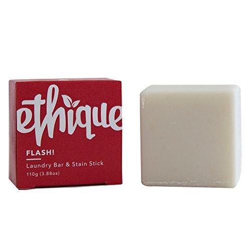 Ethique Eco-Friendly Laundry Bar & Stain Stick, Flash! 3.53 oz