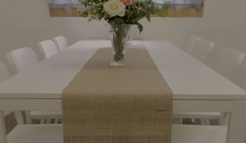 14'' No-Fray Burlap Roll Table Runner, 14 inches by 50 Yards, Placemat, Craft Fabric by Burlap and Beyond LLC (Image #6)