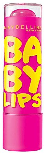Maybelline New York Lèvres Hydratant Bébé Baume pour les lèvres, rose punch, 0,15 once