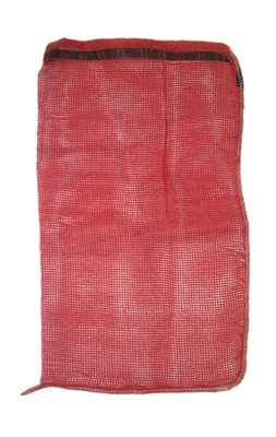 Pack of 100 Bags 15 x 25 New Red Mesh Bag with Drawtape