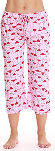 Just Love Womens Pajamas Cotton Capri Pants 6331-10295-L