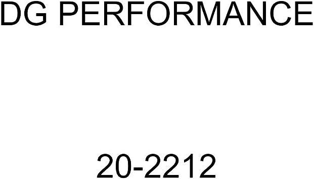 DG PERFORMANCE 20-2212 Racing Exhaust