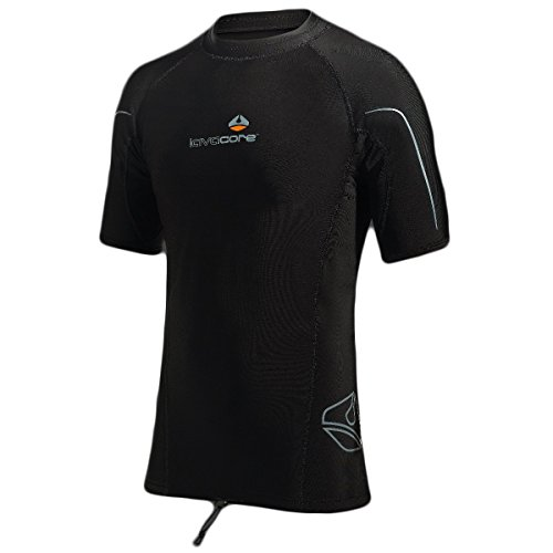 New Men's LavaCore Trilaminate Polytherm Short Sleeve Shirt (Medium) for Extreme Watersports by Lavacore