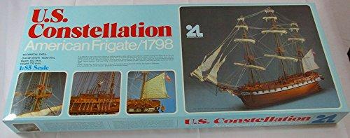 Artesania Latina U.s. Constellation American Frigate 1798 Wooden Model Ship Kit - Uss Constellation Model Ship