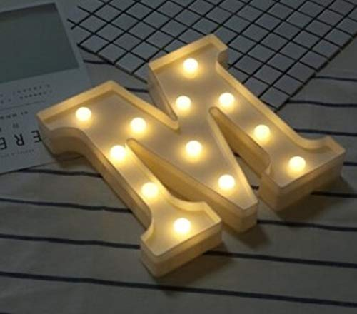 1 Pack Letter Lamp LED Night Lights Christmas Light Boys Bright Fashionable Unicorn Star Bulbs Bedroom Lamps Indoor Outdoor Holiday Decorations, Type-13