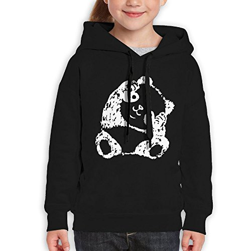 Pethe4d Cute Panda-1 Children's Pullover Hoodie With (Gangster Christmas Sweaters)