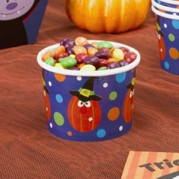 Trick or Treat - Treat Tub Pack of 8 Dazzle Tub