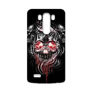 Red eyes melting skull Phone Case for LG G3