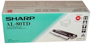 Sharp AL-80 AL-80TD Toner Cartridge for Sharp AL-800, 840, 841 Copier Machines Cart LaserJet printer ink inks Laser toners Printer copy machine refill (Ink Print Machine Refill)