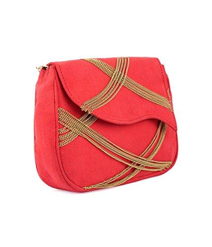Crossed Red Women Bag Orange Ruhmet Coral PxqXdX4