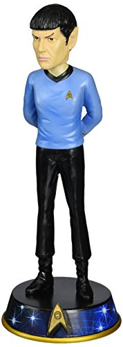 Westland Giftware Star Trek Spock Resin Bobble Head Figurine, 7-1 2-Inch