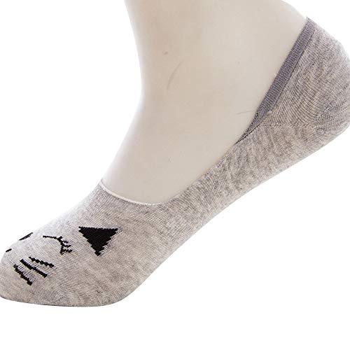 SuNiSER Invisible Cotton Socks,Women British Style Flag Stocking