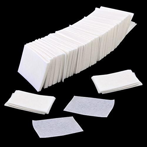 1000Pcs Cute Popular Nail Art Remover Cotton Pads Acetone Gelish Gel Polish Shellac Wraps Cleaner Lint Free Wipe Acrylic UV Tips Pedicures Wipes Manicure Decals Toe Toenail Tool Nails Pad Tip Set