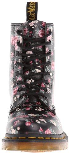 Softy Dr black Color Botas Negro Militares Martens Vintage Rose AA8qwg