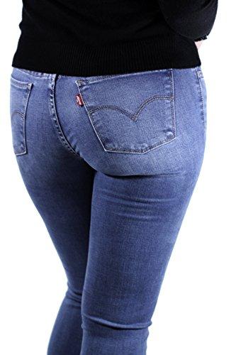 Pantalon Vaquero Levis 710 Summer Swagger Azul