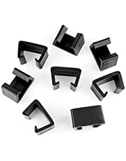 LUTER Wicker Furniture Clips Plastic Rattan Sofa Clips Sectional Couch Sofa Alignment Connector Fasteners Clip