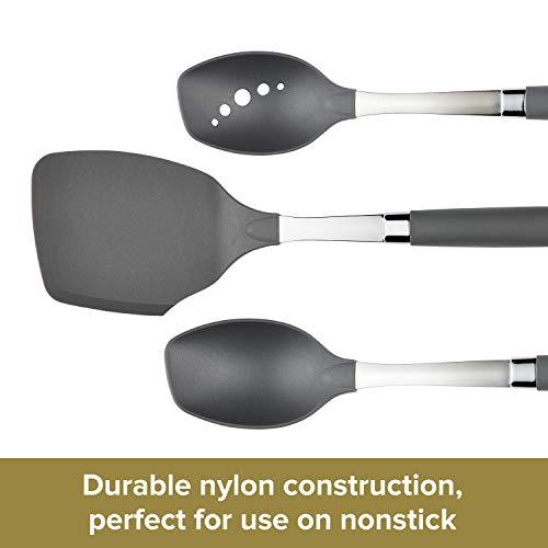 Anolon Suregrip Tools And Gadgets Slotted Turner 13 1 4 Gray Pricepulse