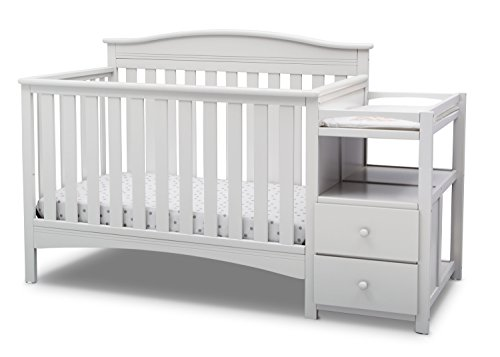 Delta Children Birkley Convertible Crib N Changer ()