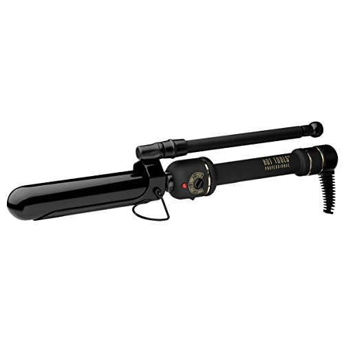 Hot Tools Professional Black Gold Marcel Curling Wand, 1.25 Inch