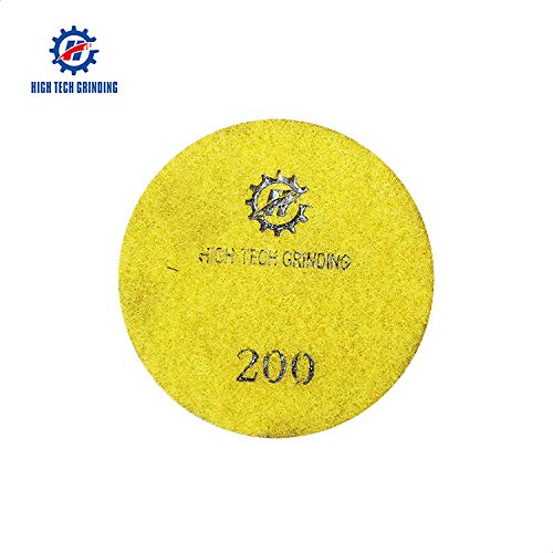 HTG Dry Polishing Resin Pads Multi-Function 3.5 Inch Concrete Floor Pads
