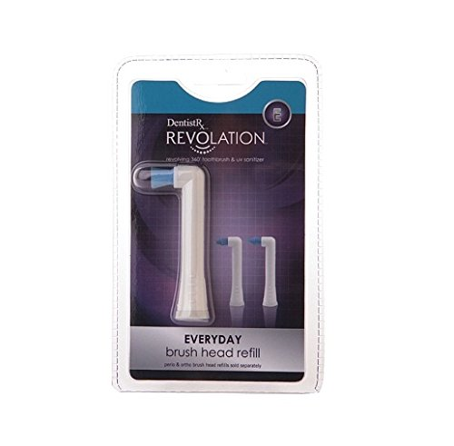 DentistRx Revolation Everyday Brush Head Refill, 1 ea - 2pc
