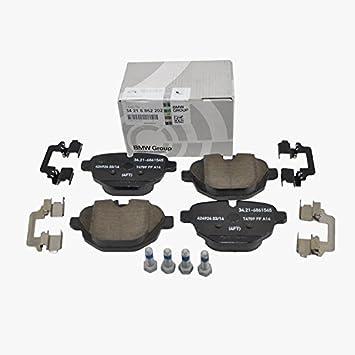 Amazon Com Bmw Rear Brake Pads Pad Set Genuine Oe 62202 Vin Required Automotive
