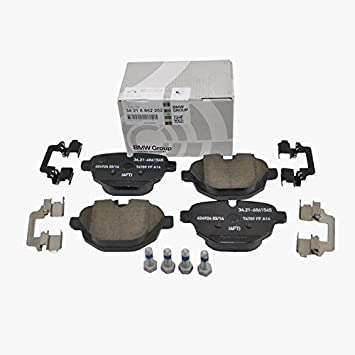 Bmw Rear Brake Pads Pad Set Genuine Oe 62202 Vinrequired Amazon