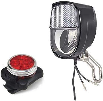 RENS - Luz de Bicicleta con Interruptor de Encendido/Apagado y luz ...