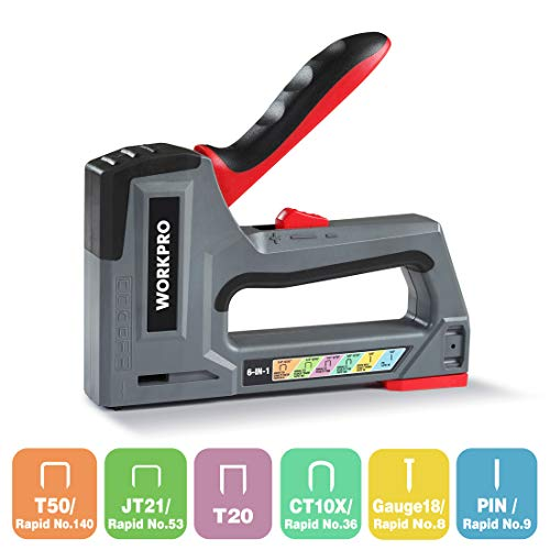WORKPRO Staple Gun 6-in-1